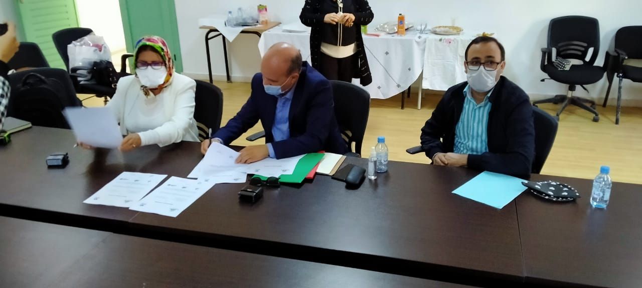 AMEPN-Université Abdelmalek Saadi (Tétouan): signature de deux conventions de partenariat.