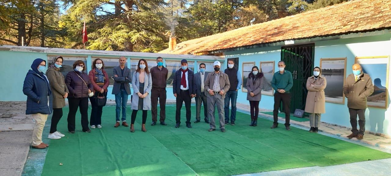 Premier atelier de suivi et évaluation et de concertation avec les partenaires sur le projet de la biodiversité dulcicole
